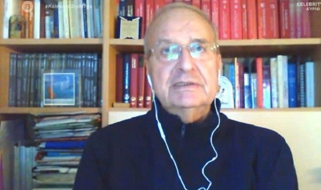 Ο πρώην αναπληρωτής υπουργός Υγείας Λεωνίδας Γρηγοράκος έχασε 42 κιλά, ως ασθενής με κορωνοϊό - Ήταν διασωληνωμένος δύο μήνες (βίντεο) - Κυρίως Φωτογραφία - Gallery - Video
