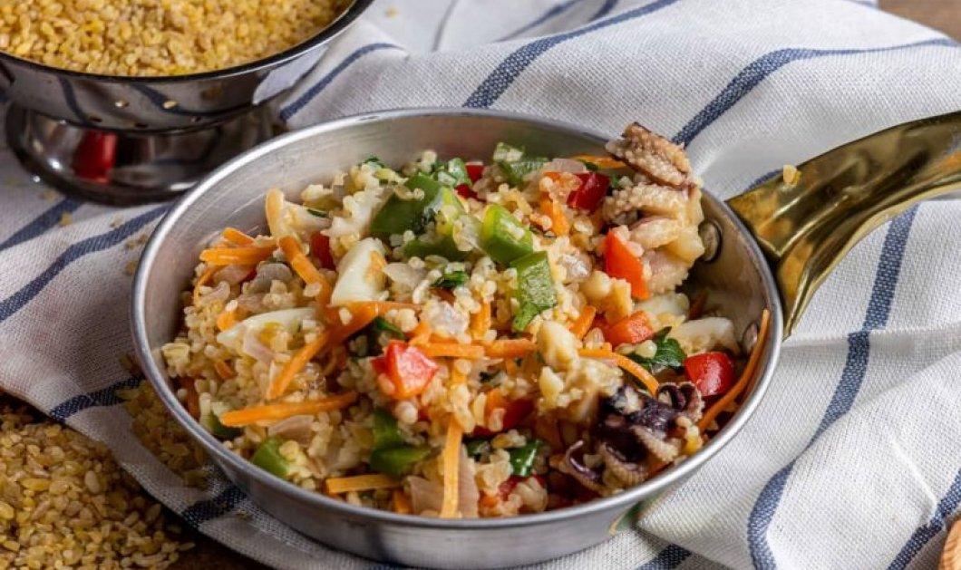 Σουπιές με λαχανικά και πλιγούρι της Αργυρώς Μπαρμπαρίγου - Νηστίσιμη και πεντανόστιμη με πολλά λαχανικά και αρώματα - Κυρίως Φωτογραφία - Gallery - Video