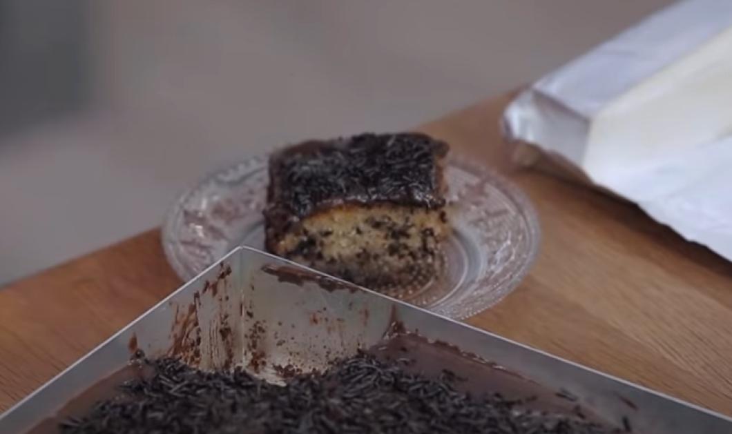Αργυρώ Μπαρμπαρίγου: Πεντανίστιμο τρουφάτο μυρμηγκάτο με κρέμα σοκολάτας (βίντεο) - Κυρίως Φωτογραφία - Gallery - Video