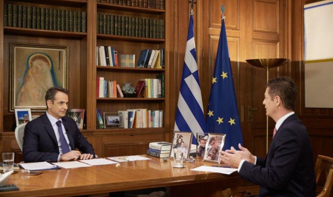 Κυρ. Μητσοτάκης στον Αντώνη Σρόιτερ: Αυτό που θα συμβεί στην οικονομία, θα μοιάζει με τέλος πολέμου (βίντεο) - Κυρίως Φωτογραφία - Gallery - Video