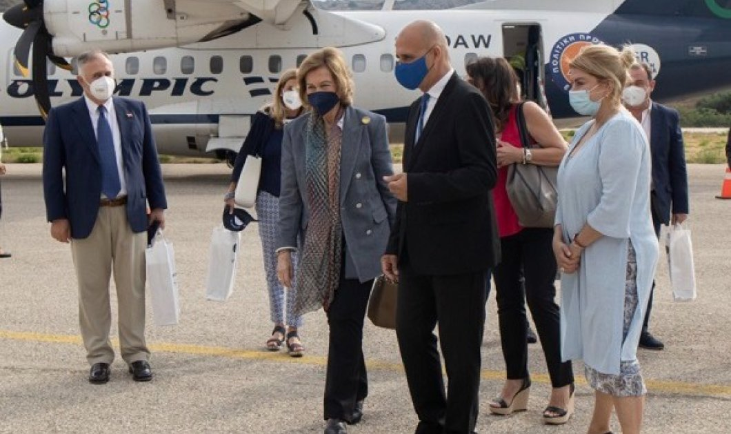 Στη Λέρο η βασίλισσα Σοφία της Ισπανίας: Οι φωτό από την επίσκεψη της αδερφής του Κωνσταντίνου στην Ελλάδα - Κυρίως Φωτογραφία - Gallery - Video