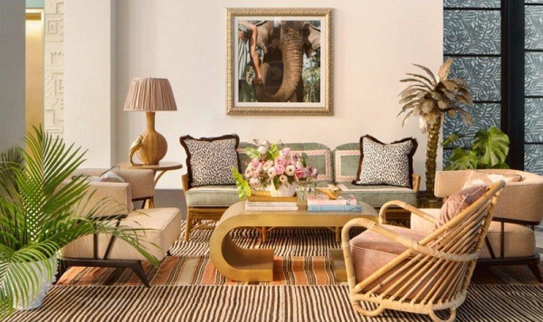 2 celebrities μας μεταφέρουν στην Art Deco εποχή του Μαϊάμι: Μέσα στο καινούργιο τους ξενοδοχείο - παστέλ χρώματα, τροπικά μοτίβα (φωτό) - Κυρίως Φωτογραφία - Gallery - Video