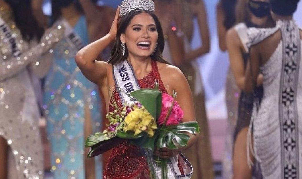 Μις Υφήλιος: Η Andrea Meza από το Μεξικό φόρεσε το στέμμα της ομορφότερης γυναίκας στον κόσμο (φωτό & βίντεο) - Κυρίως Φωτογραφία - Gallery - Video