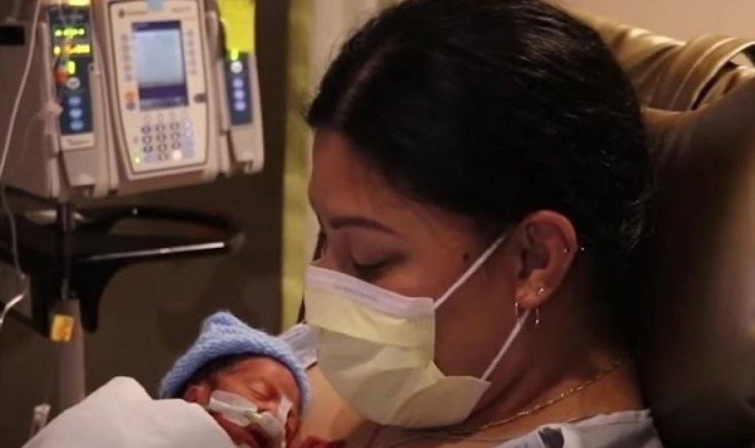 Απίστευτο κι όμως αληθινό! Δεν ήξερε ότι ήταν έγκυος και γέννησε ξαφνικά μέσα στο αεροπλάνο - Ευτυχώς υπήρχε γιατρός (φωτό & βίντεο) - Κυρίως Φωτογραφία - Gallery - Video