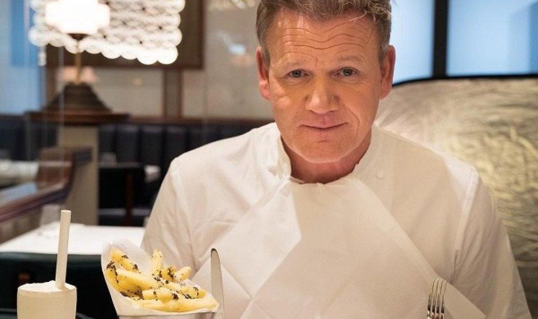 Στην Κρήτη για γυρίσματα ο βραβευμένος σεφ Gordon Ramsay: Επισκέφτηκε τον Μπάλο, έμαθε τα μυστικά της χανιώτικης μπουγάτσας (φωτό) - Κυρίως Φωτογραφία - Gallery - Video