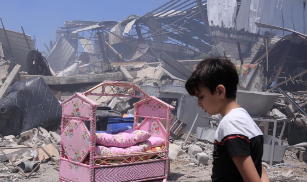 Γάζα: 200 νεκροί, δεκάδες τραυματίες - Η Μέση Ανατολή φλέγεται - Παλαιστίνιοι & Ισραηλινοί ξανά στον πόλεμο - Χωρίς τέλος η οδύνη (φωτό - βίντεο) - Κυρίως Φωτογραφία - Gallery - Video