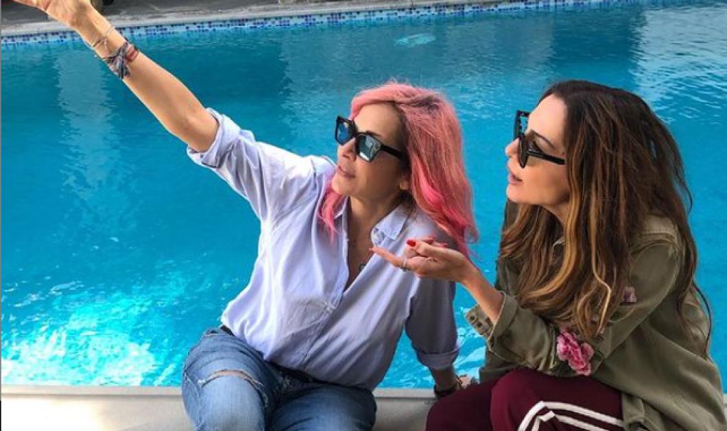 Δέσποινα Βανδή & Άννα Βίσση ποζάρουν για πρώτη φορά μαζί - Τι ετοιμάζουν οι δυο τους; (φωτό) - Κυρίως Φωτογραφία - Gallery - Video