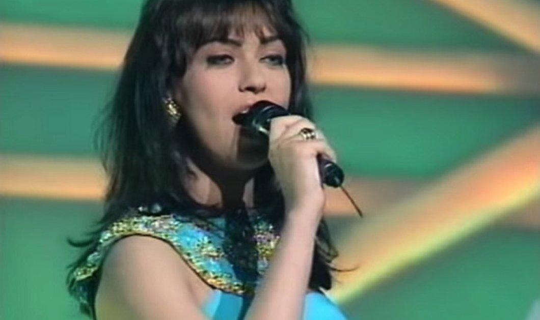 Η Καίτη Γαρμπή μιλά για την Eurovision και το «φόρεμα που μας έσωσε» - Η θρυλική τιρκουάζ τουαλέτα που φόρεσε το 1993 (βίντεο) - Κυρίως Φωτογραφία - Gallery - Video