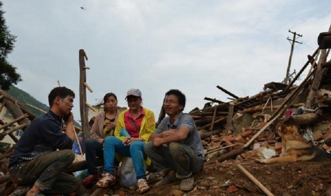 Καταστροφικοί σεισμοί 6,1 & 7,4 Ρίχτερ στην Κίνα - 2 νεκροί - πολλοί τραυματίες (φώτο-βίντεο) - Κυρίως Φωτογραφία - Gallery - Video
