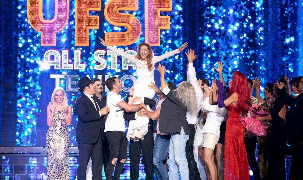 YFSF 2021: Φαντασμαγορικός ο μεγάλος τελικός, με δάκρυα η  Μαρία Μπεκατώρου - Νικήτρια η Τάνια Μπρεάζου (φωτό - βίντεο) - Κυρίως Φωτογραφία - Gallery - Video