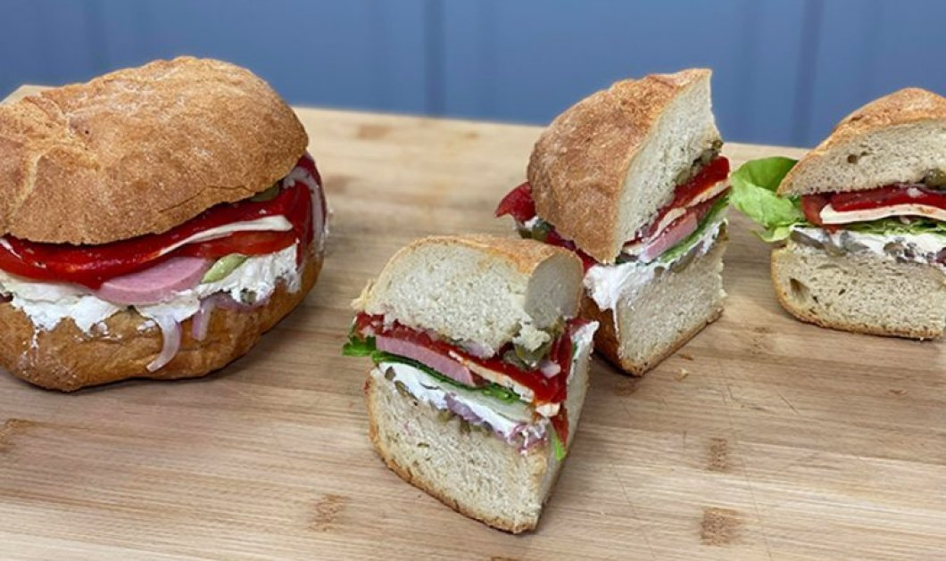 Αργυρώ Μπαρμπαρίγου:  Πάμε για πικ νικ και ετοιμάζουμε Ψωμί ουράνιο τόξο - Μια εύκολη και χορταστική λύση - Κυρίως Φωτογραφία - Gallery - Video