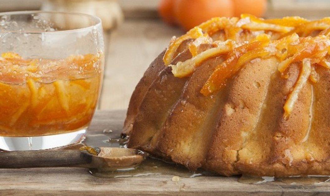 Σιροπιαστό κέικ μανταρίνι από τον Στέλιο Παρλιάρο - Ζουμερό και απολαυστικό! - Κυρίως Φωτογραφία - Gallery - Video
