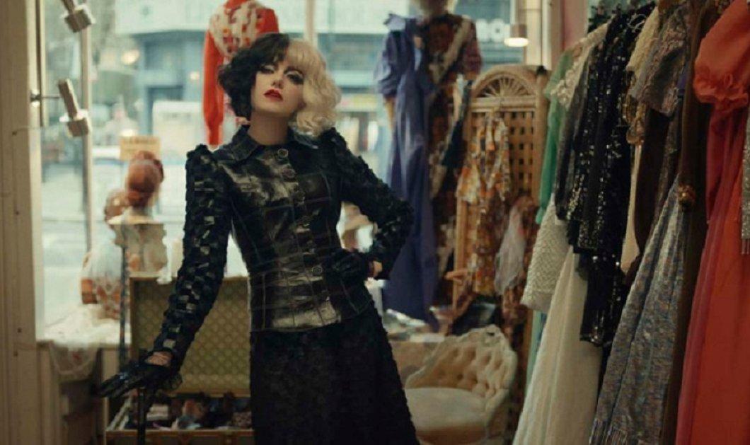 """Η Cruella  επέστρεψε στη μεγάλη οθόνη & οι σχεδιαστές εμπνέονται από την γκαρνταρόμπα της- Τα """"must have"""" ρούχα & αξεσουάρ για το De Vil style (φώτο)  - Κυρίως Φωτογραφία - Gallery - Video"""