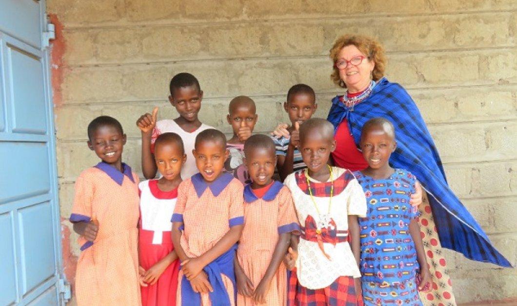 Topwoman η Άννυ Καραγκούνη-Corsini: Η Ελληνίδα φύλακας - άγγελος μιας κοινότητας των Μασσάι στην Κένυα - 17 χρόνια προσφοράς (φωτό) - Κυρίως Φωτογραφία - Gallery - Video