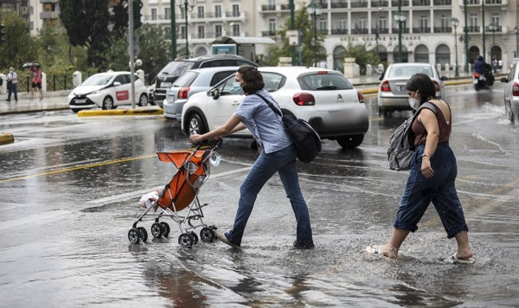 Καιρός: Με βροχές και καταιγίδες το Σάββατο - Που θα είναι έντονα τα φαινόμενα και πότε θα υποχωρήσουν - Κυρίως Φωτογραφία - Gallery - Video