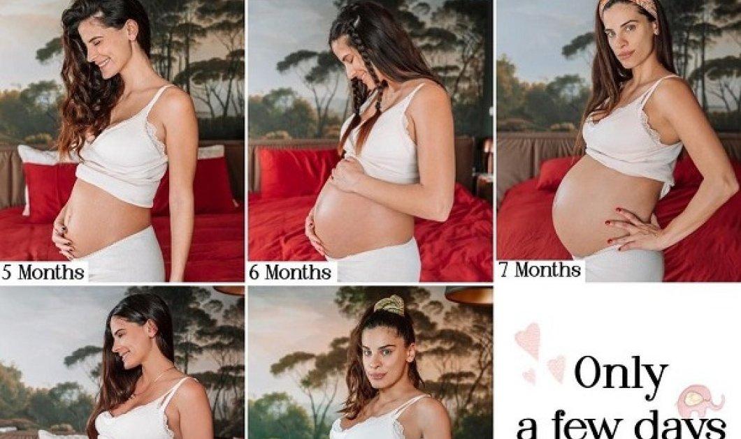 Η εγκυμοσύνη της Χριστίνας Μπόμπα μέσα από 8 φωτό: Πόσο μεγάλωσε η κοιλίτσα της από τον 2ο εώς τον 9ο μήνα - Μετρά αντίστροφα! - Κυρίως Φωτογραφία - Gallery - Video
