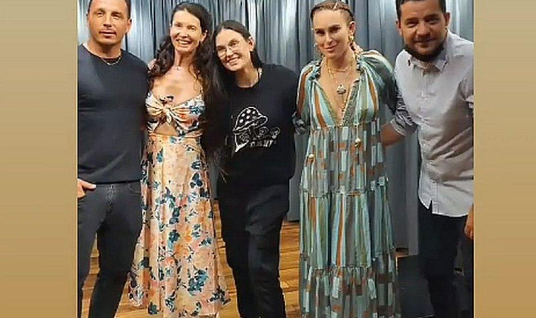 H Demi Moore στην Ελλάδα με την κόρη της Rumer Willis - Επισκέφθηκε τους σχεδιαστές MI-RO & ετοιμάζει τους επόμενους προορισμούς της στα όμορφα νησιά μας (φωτό) - Κυρίως Φωτογραφία - Gallery - Video