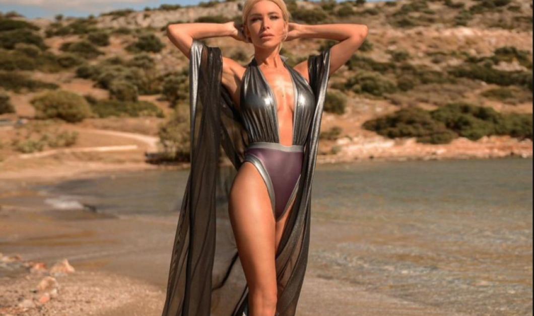 Made in Greece τα μαγιό της Sognante: Ποικιλία μεταλλικών υφών, νέον πινελιές & 90s αναφορές, τονίζουν τη θηλυκότητα - Κυρίως Φωτογραφία - Gallery - Video