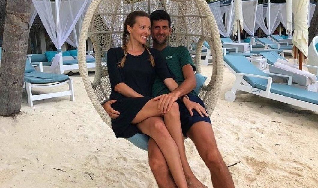 Ένα ευτυχισμένο ζευγάρι! Ποια είναι η Jelena, η σύζυγος του Novak Djokovic - Ο μεγάλος αντίπαλος του Τσιτσιπά & η όμορφη Σέρβα (φωτό & βίντεο) - Κυρίως Φωτογραφία - Gallery - Video