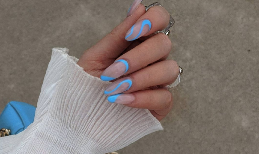 Baby blue nails: 40 ιδέες για νύχια στο πιο όμορφο χρώμα για το φετινό Καλοκαίρι - Δείξε πιο λαμπερή από ποτέ - Κυρίως Φωτογραφία - Gallery - Video