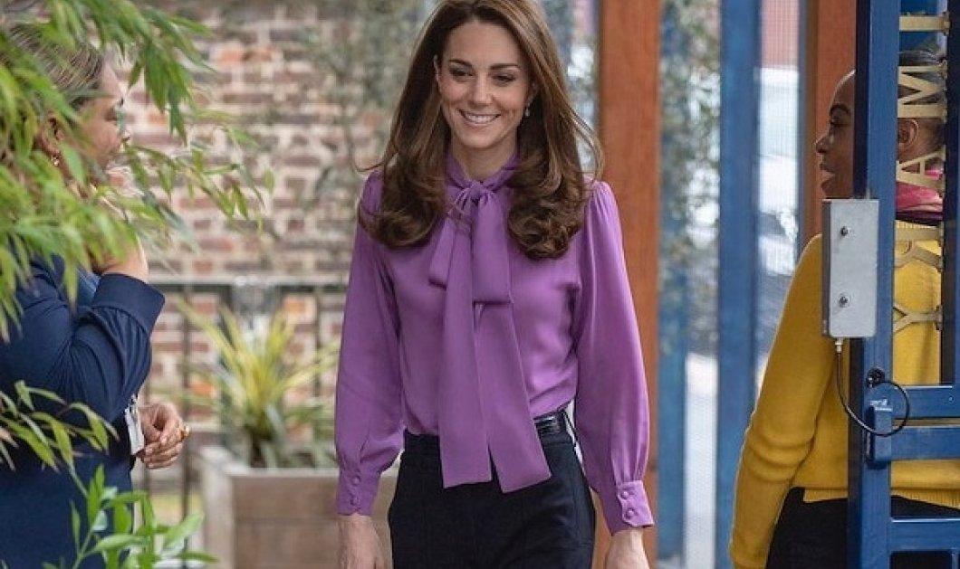 Όταν η Kate Middleton φοράει παντελόνια: 9 κομψοί συνδυασμοί που έκανε η Δούκισσα - Με σακάκι, μπλούζα ή πουκάμισο (φωτό) - Κυρίως Φωτογραφία - Gallery - Video