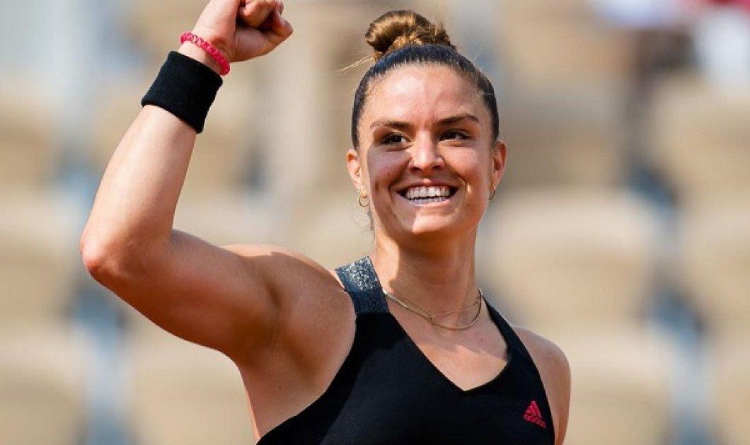 Roland Garros: Μυθική Μαρία Σάκκαρη! Ιστορική πρόκριση με σκορ 2-0 για την Ελληνίδα τενίστρια - πέρασε στα ημιτελικά (φωτό & βίντεο) - Κυρίως Φωτογραφία - Gallery - Video
