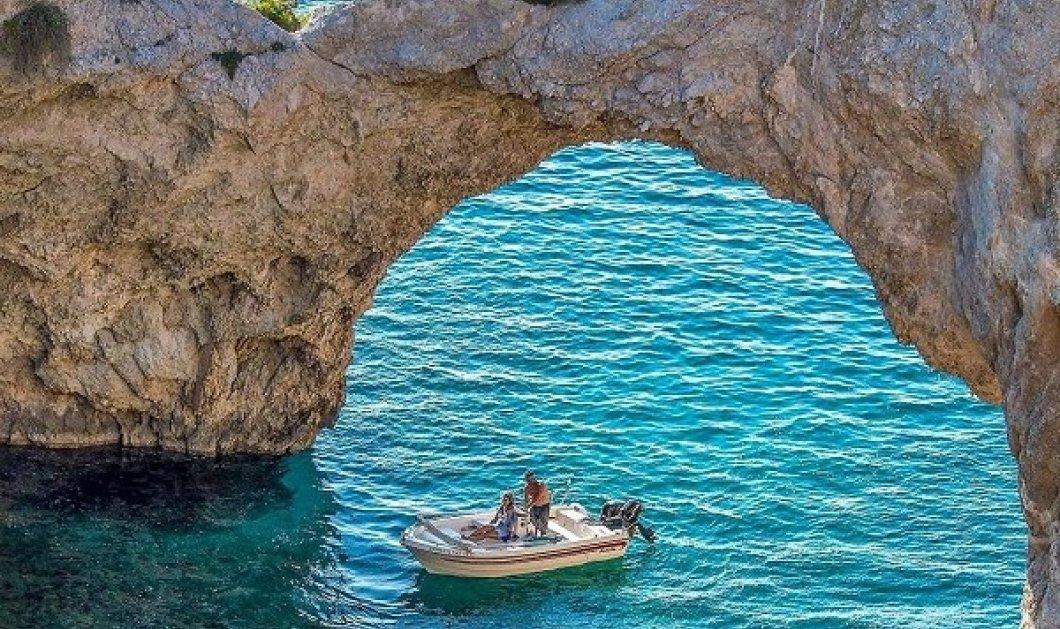 #GreekSummer 2021: Ο @nikos_nikoletakis παρουσιάζει την Σπηλιά της Φώκιας, κοντά στο Λουτράκι - Οι Έλληνες φωτογράφοι προτείνουν  - Κυρίως Φωτογραφία - Gallery - Video