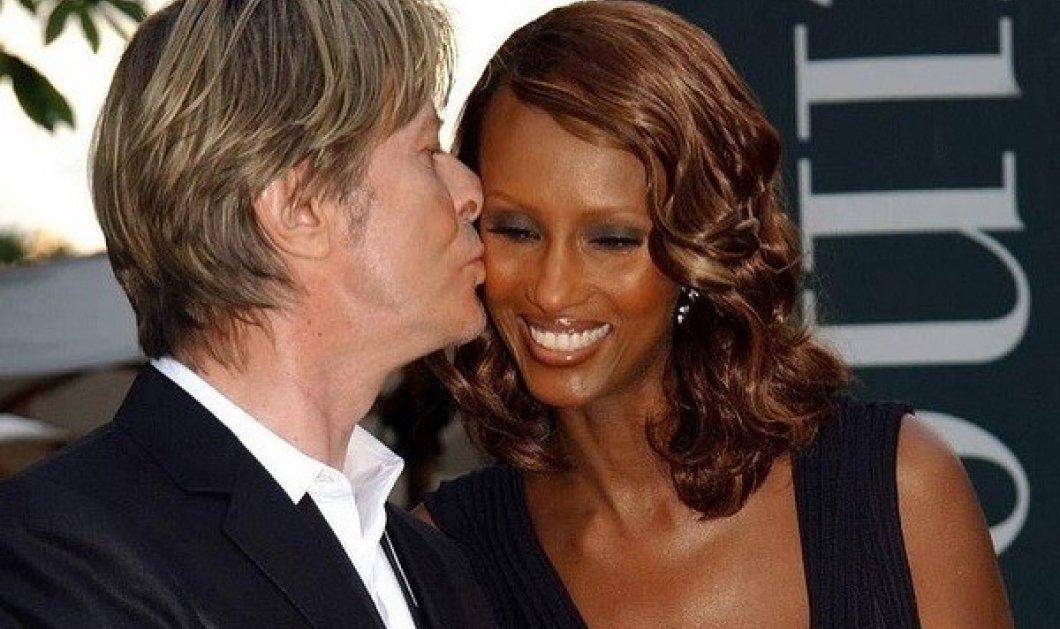 Η Iman δεν ξεχνάει τον David Bowie στην επέτειο του γάμου τους: Ο rock star που ερωτεύτηκε το supermodel από την Σομαλία (φωτό) - Κυρίως Φωτογραφία - Gallery - Video