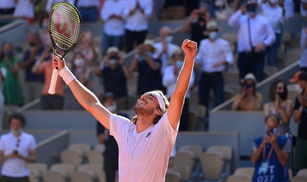 """""""Τσιτσιπά το μεγαλείο σου"""": Ο πρώτος Έλληνας που πέρασε στον τελικό του Roland Garros- """"Η πιο σημαντική στιγμή της καριέρας μου"""" (φώτο-βίντεο) - Κυρίως Φωτογραφία - Gallery - Video"""