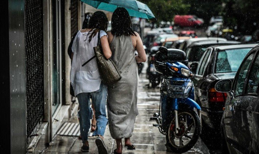 Καιρός: Με βροχές και καταιγίδες το Σάββατο - Που θα εκδηλωθούν θα έντονα φαινόμενα και πότε θα εξασθενήσουν  - Κυρίως Φωτογραφία - Gallery - Video
