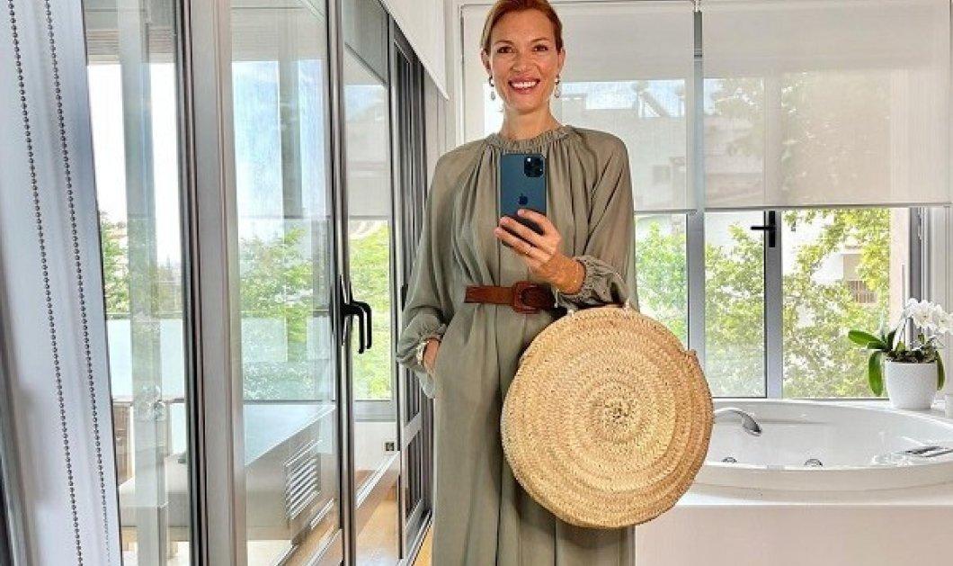 Στυλιστικά tips από την Βίκυ Καγιά: Πώς να φορέσεις το αγαπημένο σου παστέλ midi φόρεμα από το πρωί μέχρι το βράδυ! (φωτό) - Κυρίως Φωτογραφία - Gallery - Video