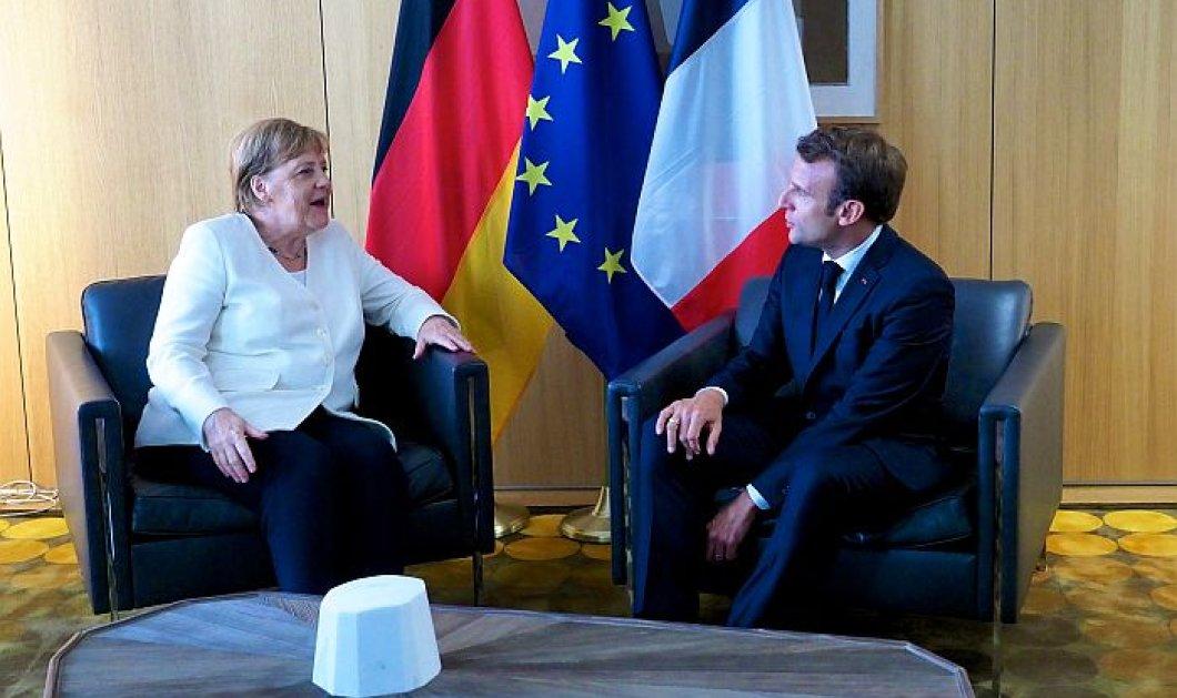 Αγγελα Μέρκελ  - Εμανουέλ Μακρόν  - κορωνοϊός:  Προωθούν αυστηρότερη ευρωπαϊκή προσέγγιση για ταξίδια από χώρες εκτός ΕΕ - Λόγω της παραλλαγής Δέλτα  - Κυρίως Φωτογραφία - Gallery - Video
