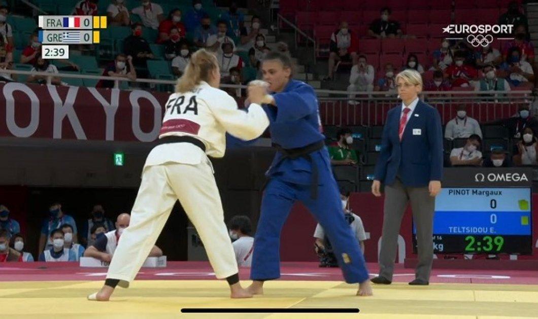 Ολυμπιακοί Αγώνες 2021: Προκρίθηκε στις «16» του τζούντο η Τελτσίδου - ποια είναι (φωτό & βίντεο) - Κυρίως Φωτογραφία - Gallery - Video