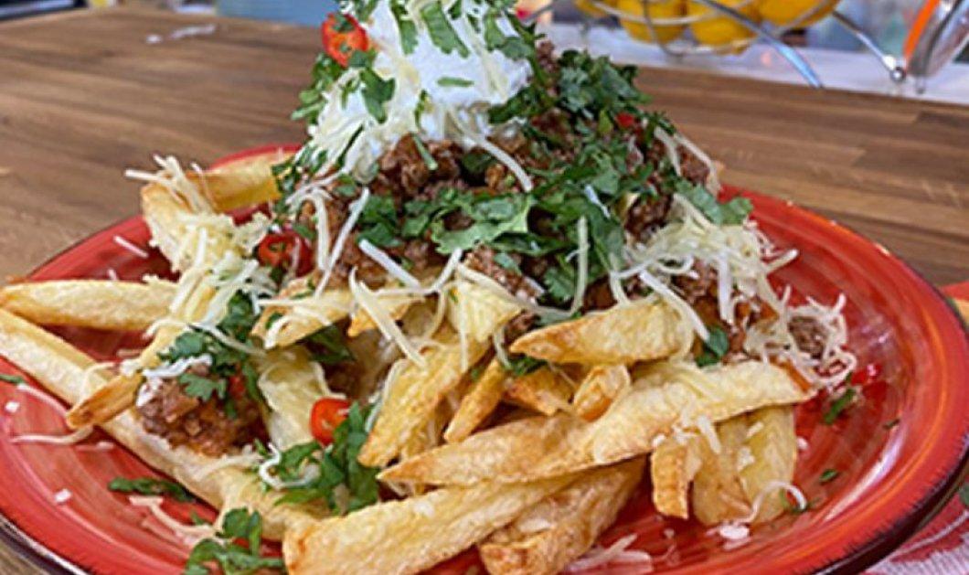 Η Αργυρώ Μπαρμπαρίγου προτείνει: Πατάτες Tex Mex με κιμά και τυριά - Μια λιχουδιά  - Κυρίως Φωτογραφία - Gallery - Video