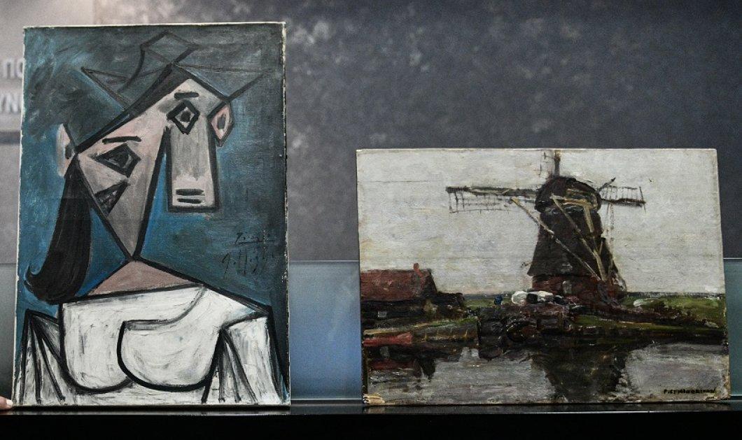 """Εθνική Πινακοθήκη: Προφυλακιστέος ο """"ArtFreak"""" κατηγορούμενος για την """"κλοπή του αιώνα"""" -  «Έτσι έκλεψα τους πίνακες των Πικάσο & Μοντριάν» (φώτο)  - Κυρίως Φωτογραφία - Gallery - Video"""