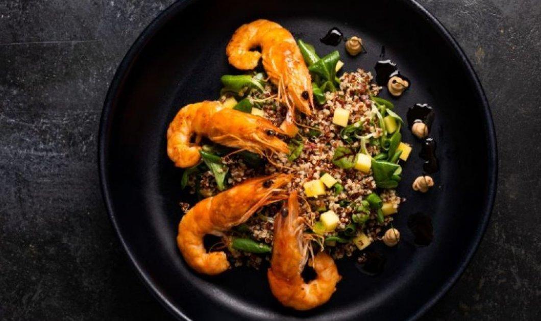 Αργυρώ Μπαρμπαρίγου:Φακές beluga με γαρίδες σωτέ - Εύκολη και φανταστική gourmet συνταγή για να εντυπωσιάσεις τα αγαπημένα σου πρόσωπα - Κυρίως Φωτογραφία - Gallery - Video