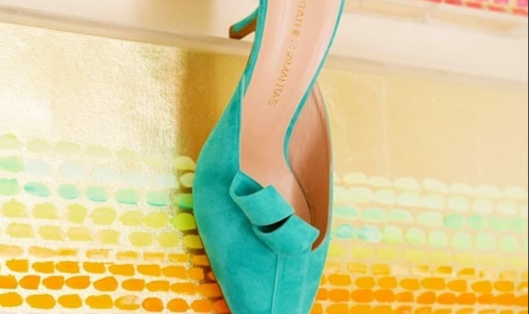 Made in Greece η νέα συλλογή του Στάθη Σαμαντά για τα παπούτσια του καλοκαιριού: Έντονες υφές & αντιθέσεις χρωμάτων σε υποδήματα με γεωμετρικό σχεδιασμό - Κυρίως Φωτογραφία - Gallery - Video