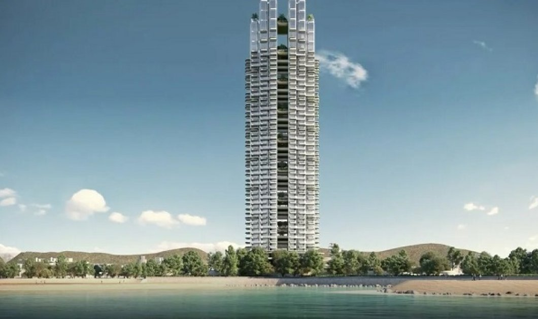 Marina Tower: Έτσι θα είναι ο πρώτος «πράσινος» ουρανοξύστης της Ελλάδας - ο πιο ψηλός στην Μεσόγειο! 45 όροφοι & 200 διαμερίσματα (φωτό & βίντεο) - Κυρίως Φωτογραφία - Gallery - Video