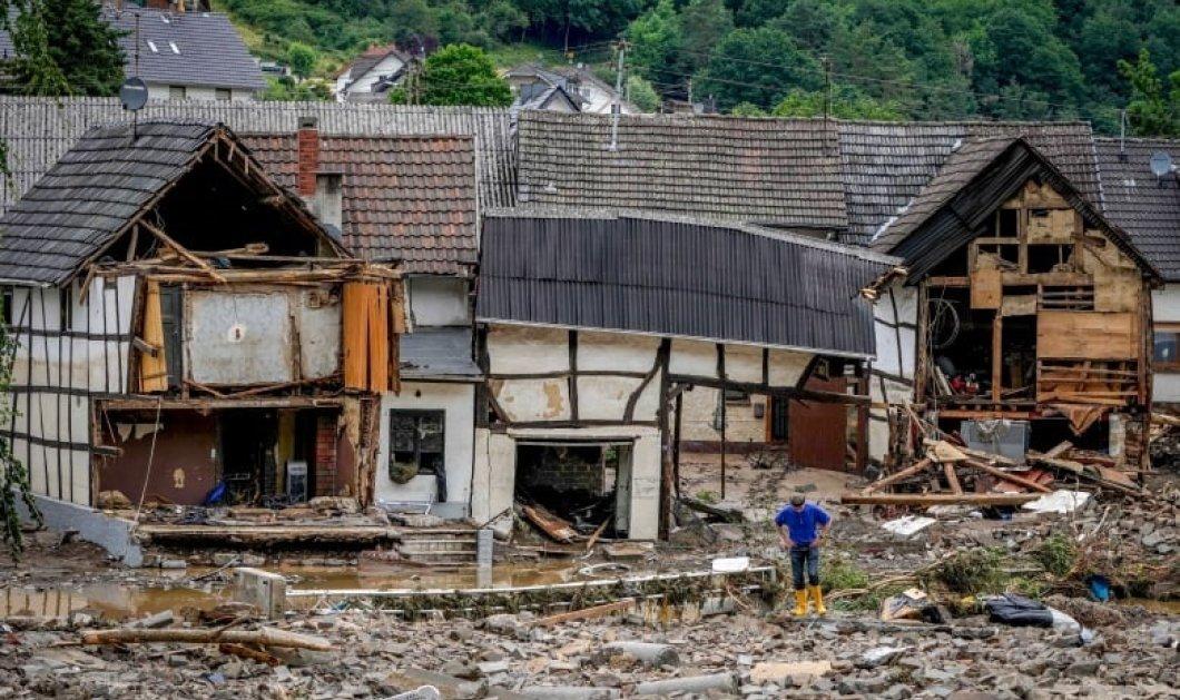 Εικόνες αποκάλυψης στη Γερμανία: 156 οι νεκροί από τις πλημμύρες - Συγκλονίζει η μαρτυρία του Έλληνα Γιατρού (φώτο-βίντεο) - Κυρίως Φωτογραφία - Gallery - Video