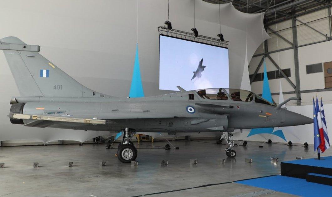 Έφτασε το πρώτο Rafale στην Ελλάδα -  Η τελετή παράδοσης στην αεροπορική βάση στο ISTERS στη νότια Γαλλία - Κυρίως Φωτογραφία - Gallery - Video