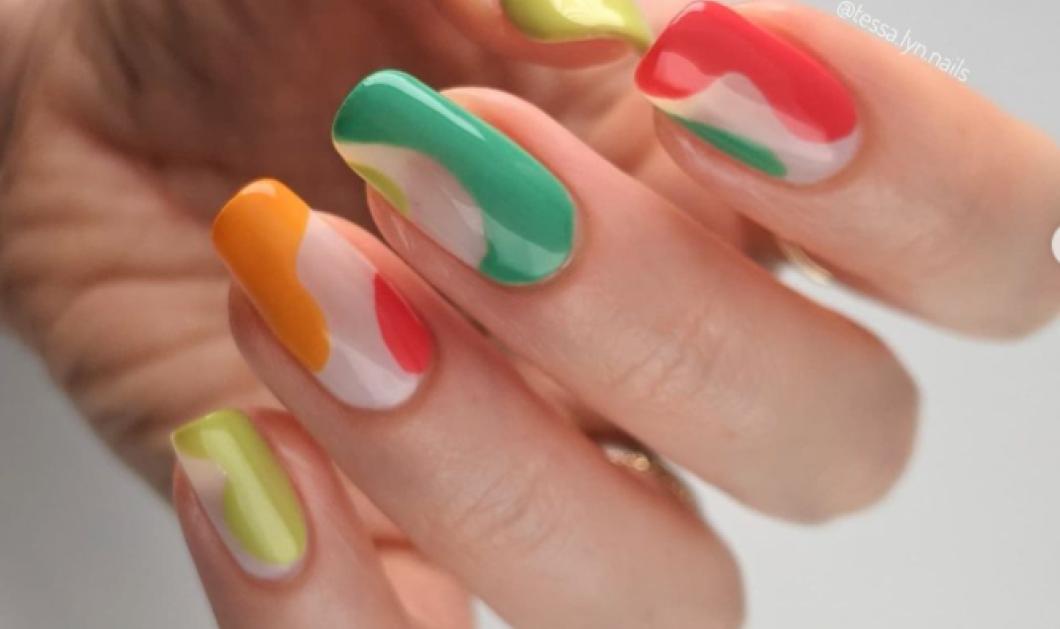 40 εκπληκτικά σχέδια στα νύχια για τον Ιούλιο 2021 - Ιndie nails, αφηρημένα art designs - Κυρίως Φωτογραφία - Gallery - Video