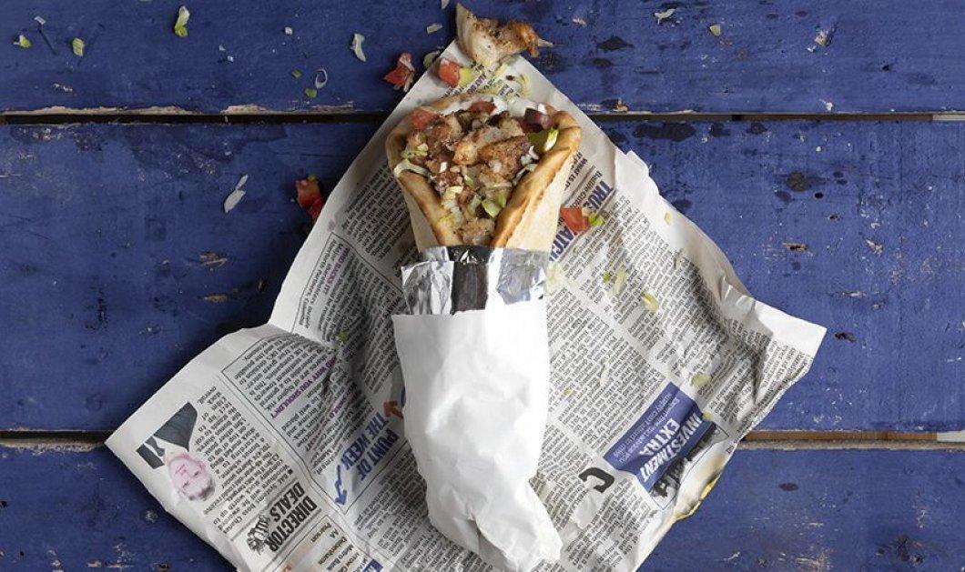 Street food by Akis Petretzikis: Μοναδικό Σουβλάκι με γύρο μπακαλιάρου - Πρέπει να το δοκιμάσετε...  - Κυρίως Φωτογραφία - Gallery - Video