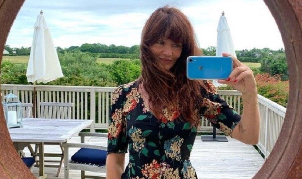 Είδωλο! - Η Έλενα Κρίστενσεν με super καλοκαιρινές εμφανίσεις - Μαύρο floral φόρεμα & υπέροχο ροζ μαγιό  (φώτο) - Κυρίως Φωτογραφία - Gallery - Video