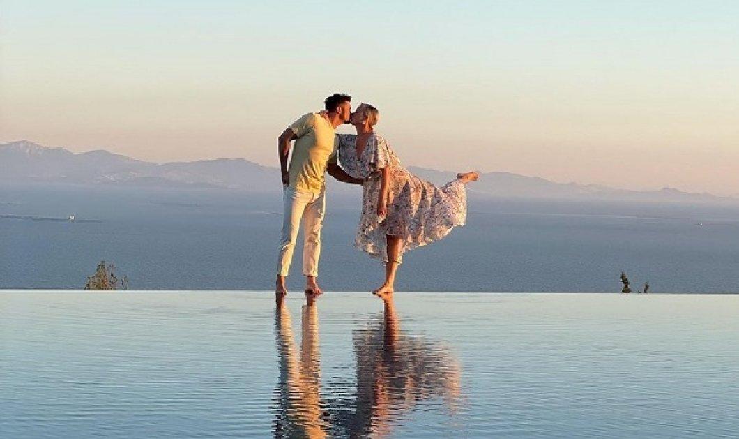 Το πιο ονειρικό φιλί: Η Katy Perry & ο Orlando Bloom λες και βρίσκονται στην άκρη του κόσμου! - η ρομαντική φωτό από τις διακοπές τους - Κυρίως Φωτογραφία - Gallery - Video