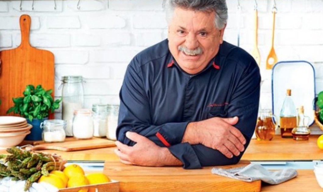 O Λευτέρης Λαζάρου - ο chef των chefs - πριν από 20 χρόνια με look καπετάνιου (φώτο) - Κυρίως Φωτογραφία - Gallery - Video