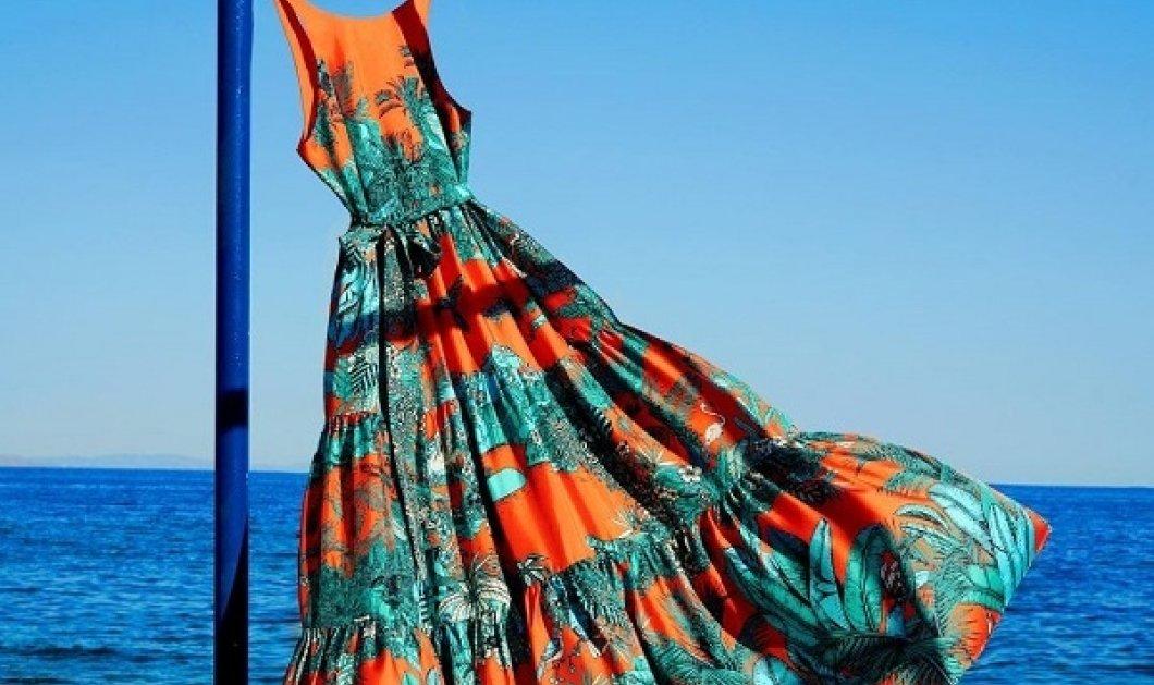 Κιμονό παρεό, φορέματα - όλα υπέροχα & όλα made in Greece: να τι θα φορέσουμε πάνω από το μαγιό μας φέτος το καλοκαίρι (φωτό) - Κυρίως Φωτογραφία - Gallery - Video