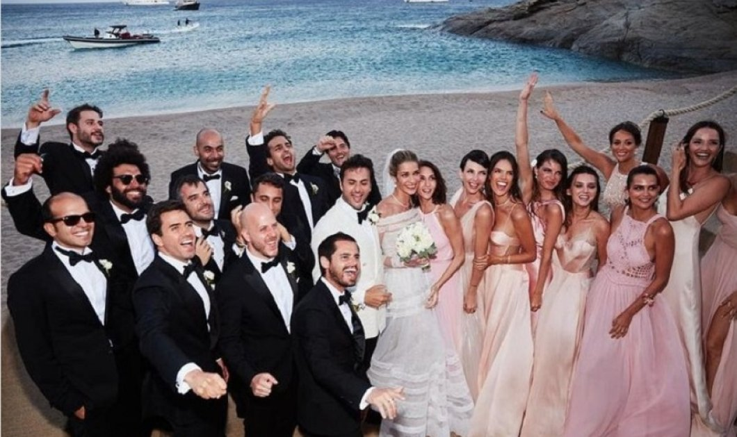 Το διάσημο μανεκέν Ana Beatriz Barros στη Μύκονο  γιορτάζει 5 χρόνια γάμου με τον καλλονό άντρα της Κarim - Εδώ έγινε ο χλιδάτος γάμος τους (φώτο) - Κυρίως Φωτογραφία - Gallery - Video