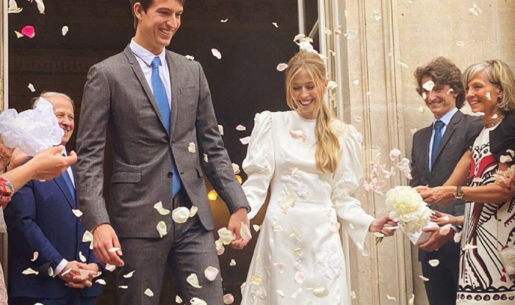 O Μπερνάρ Αρνό της Louis Vuitton πάντρεψε τον γιο του - 'Ενας αριστοκρατικός γάμος στο Παρίσι & ένα νυφικό... μαγεία! (φωτό) - Κυρίως Φωτογραφία - Gallery - Video