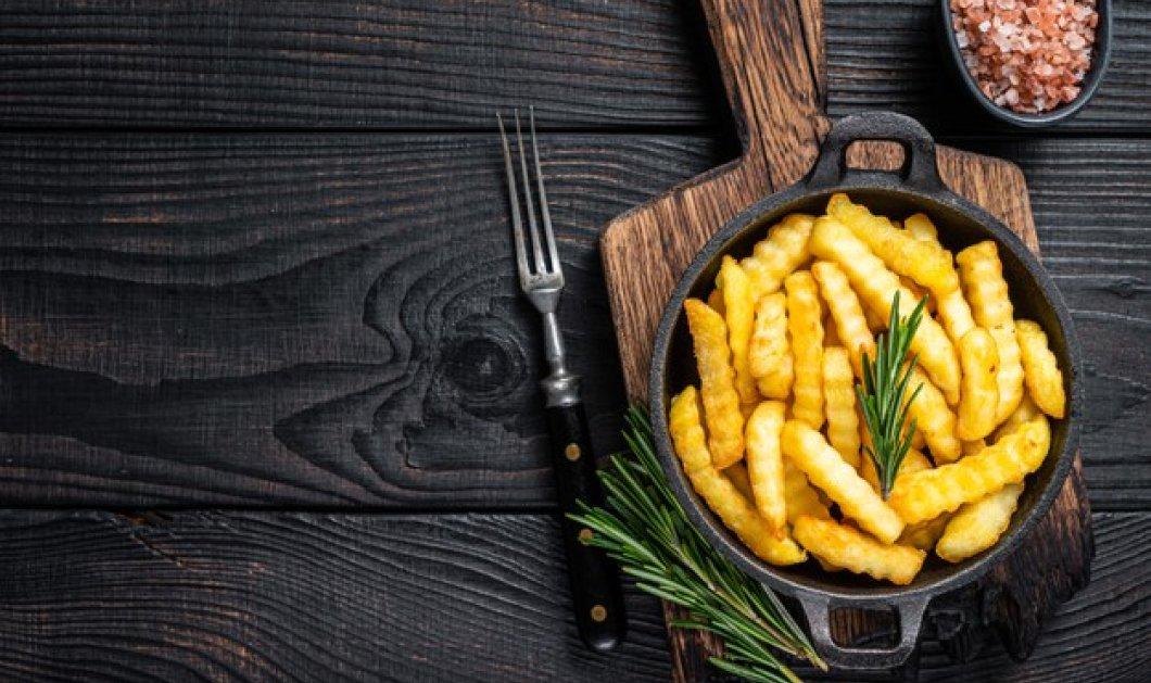 Πως μπορούμε να απολαύσουμε τις τηγανητές μας πατάτες πιο υγιεινά; - Οδηγίες, ώστε να κάνετε το τηγάνισμα λιγότερο βλαβερό - Κυρίως Φωτογραφία - Gallery - Video