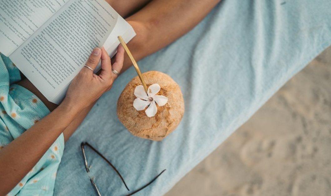 Κατερίνα Τσεμπερλίδου: 10 σημεία που μπορείς να απολαύσεις το βιβλίο σου το καλοκαίρι! - μέσα ή έξω από το σπίτι - Κυρίως Φωτογραφία - Gallery - Video